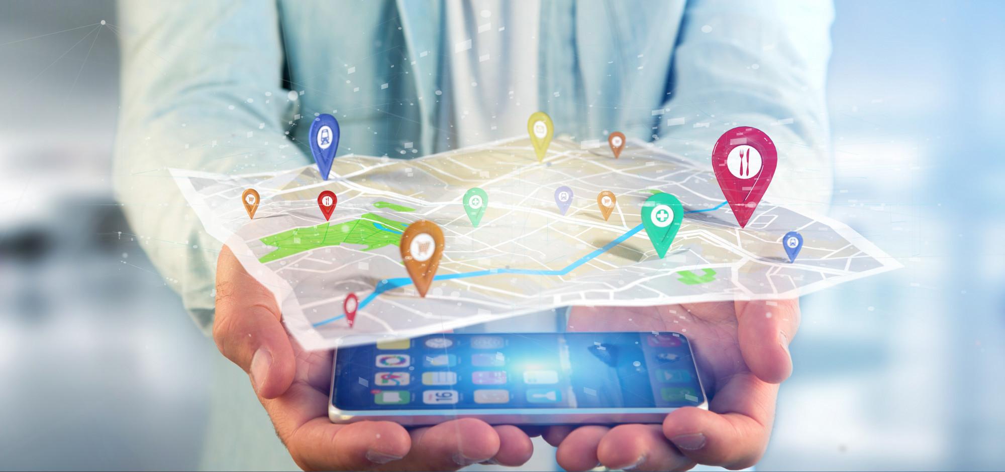 aplikacja mobilna mapa